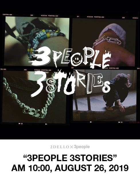 """3PEOPLE 3STORIES"""